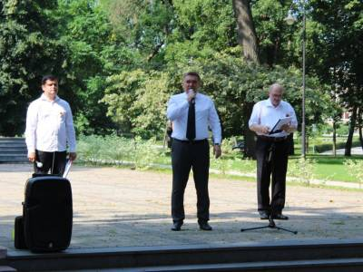 Даугавпилс отметил 75-летие освобождения от нацистской оккупации