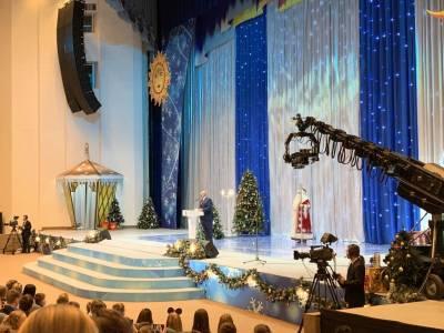 Латвийские дети побывали на Президентской ёлке в Беларуси