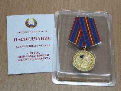 """Старшыня """"Уздыма"""" узнагароджана медалём Беларусі"""